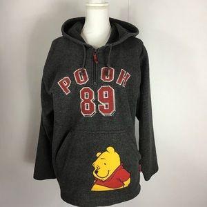 Disney Winnie The Pooh Hoodie Size 14W/16W